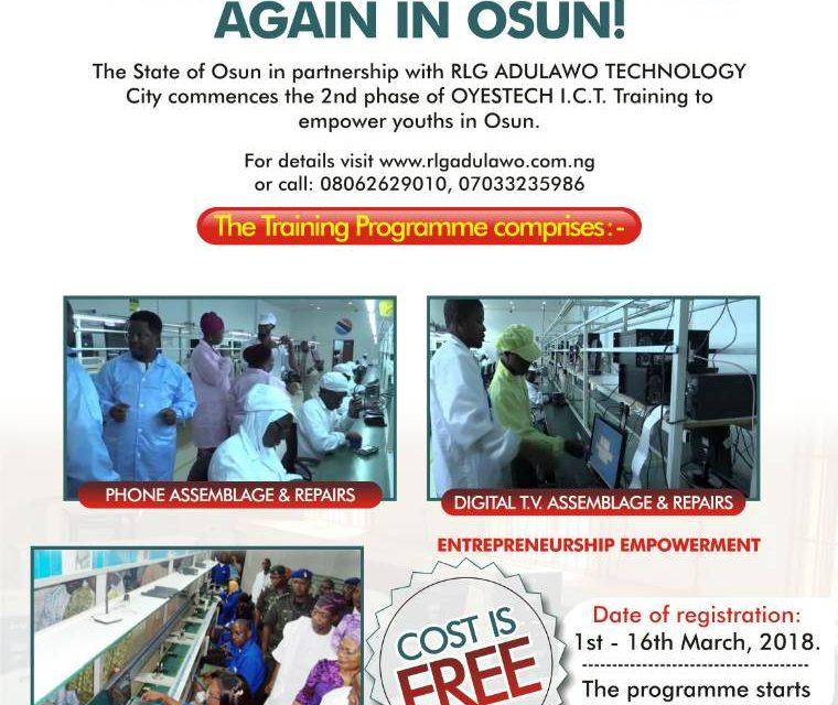 Empowerment program flyer